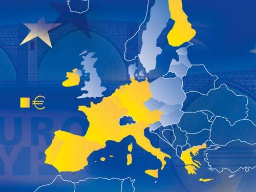 Euro Bölgesi'nde büyüme hızı yarı yarıya azaldı