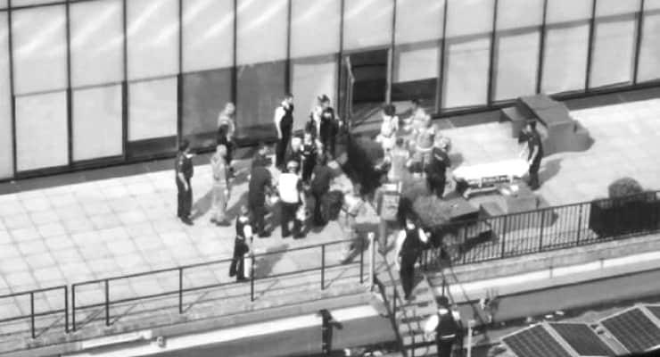 Tate Modern'in terasından altı yaşındaki çocuğu atan kişiye 15 yıl hapis cezası