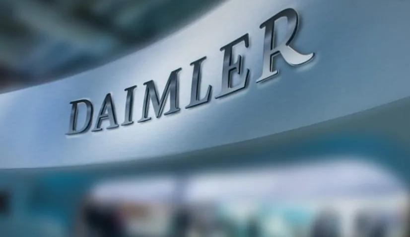 Alman otomobil devi Daimler'e 870 milyon euro ceza