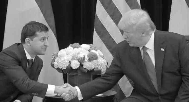 Trump ile görüşme karşılığında Zelenskiy'den Biden'ı soruşturması istenmiş