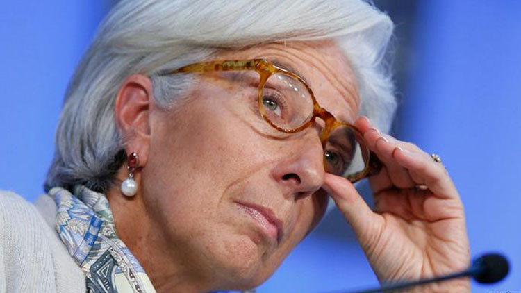 Lagarde: Euro Bölgesi ekonomisi 2020'de yüzde 8 ile 12 arasında daralabilir