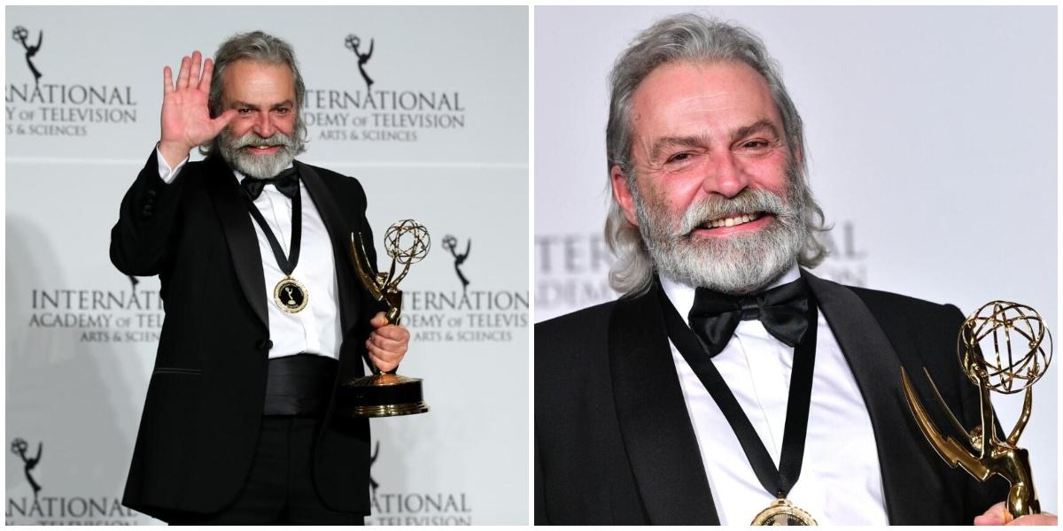 Şahsiyet Dizisindeki Rolüyle Uluslararası Emmy Ödülü'nü Kazanan Haluk Bilginer