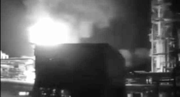 Suriye'nin petrol tesislerine 'drone' saldırısı: Büyük hasar var