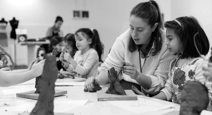 İstanbul Modern, yarıyıl  tatilinde çocuklara atölyeler düzenliyor