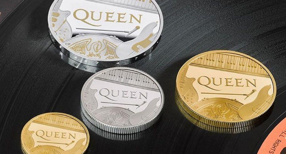 Queen'e özel madeni hatıra parası basıldı