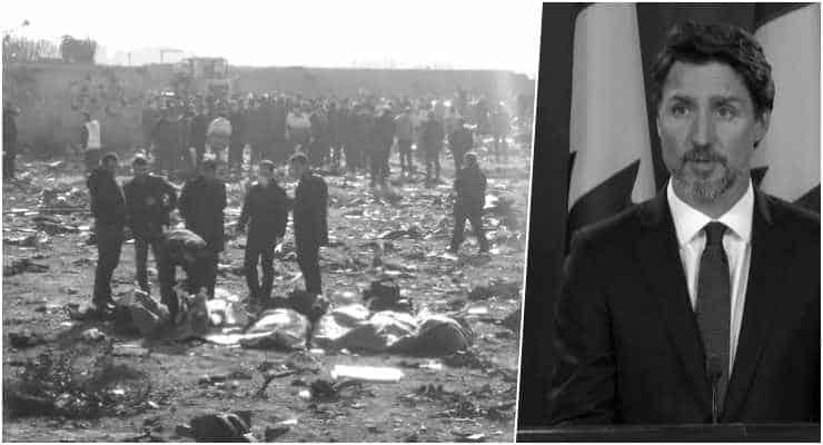 Trudeau: Ukrayna uçağını İran'ın füzeyle yanlışlıkla vurduğuna ilişkin kanıt var