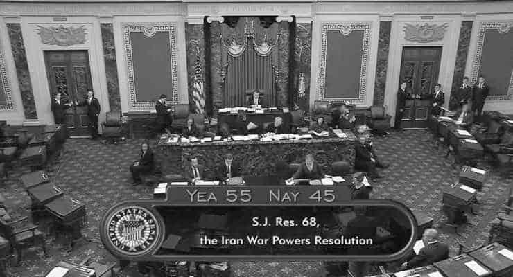 ABD Senatosu, Trump'ın İran'a askeri operasyon yetkisine kısıtlamayı onayladı