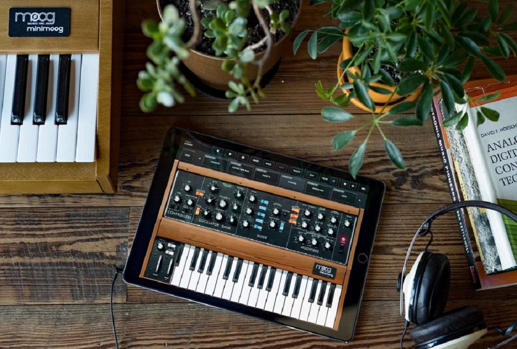 Moog ve Korg'un synthesizer uygulamaları, evden çıkmayan müzisyenler için ücretsiz