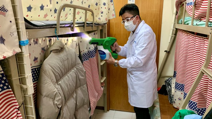 Virüse karşı spreyli koruma geliştirildi: 90 gün etkili