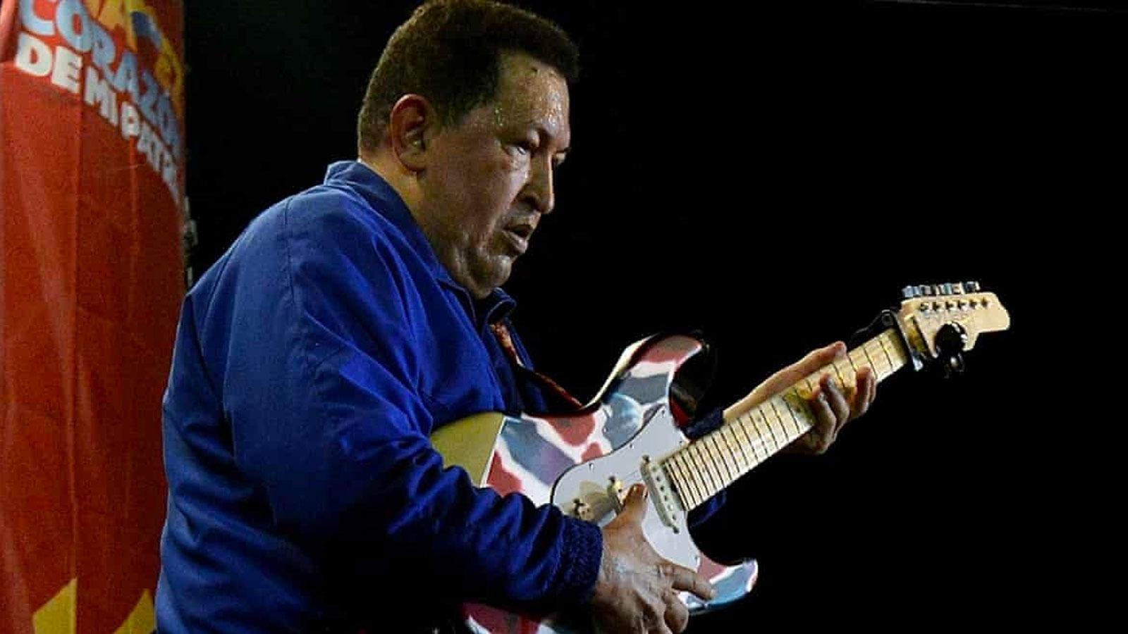 'ABD, 2011 yılında Chávez'in imajına zarar verecek şarkılar yazmaları için Venezuelalı rock gruplarına para verdi'