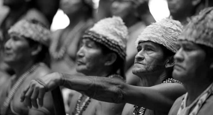 Amazon yerlileri 'corona'yla mücadele için 'bağış' çağrısı yaptı