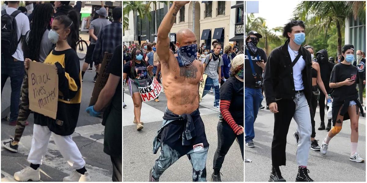 George Floyd İçin Irkçılık Karşıtı Protestolara Katılan Ünlüler