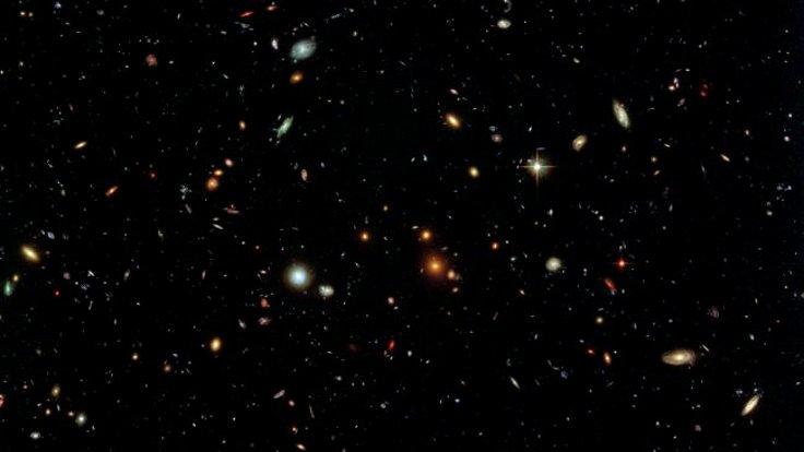 Uzayda daha önce gözlenmeyen bir nesne keşfedildi