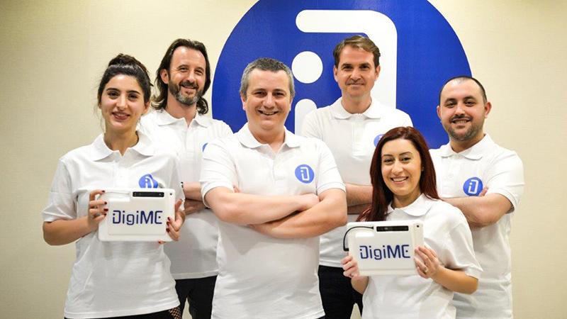 Yerli girişim DigiME, 15 milyon TL değerleme ile 3.8 milyon TL yatırım aldı