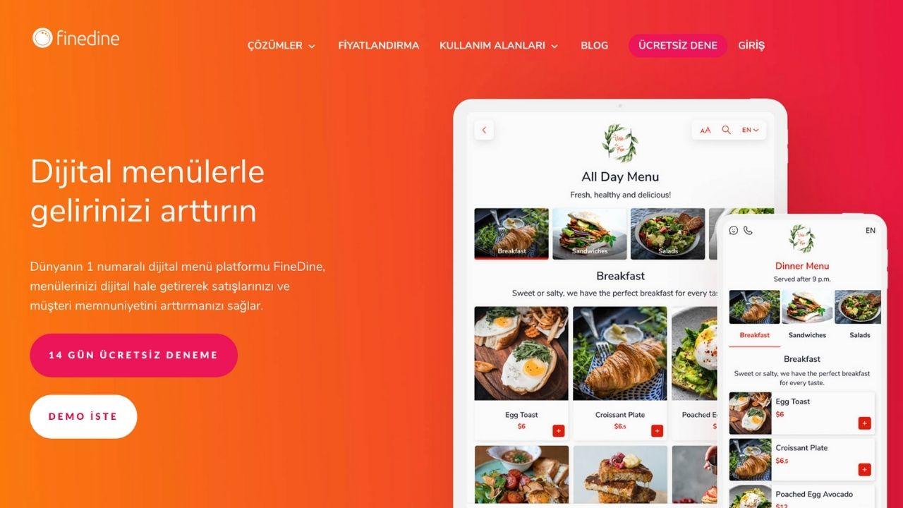 Dijital sipariş ve restoran yönetim platformu FineDine, 600 bin dolar yatırım aldı
