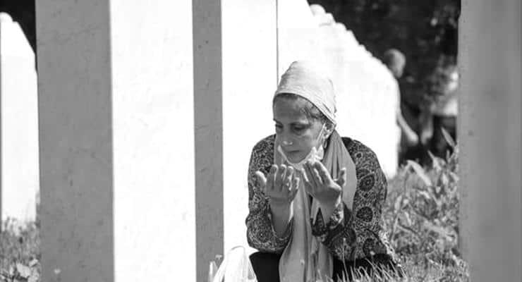 Srebrenitsa Katliamı'nın 25'inci yılında, ölenler anıldı: Gözlerde yaş, yüreklerde acı