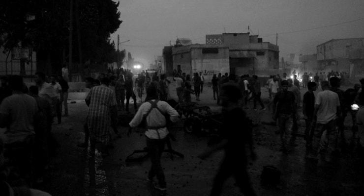 Tel Abyad'da bomba yüklü araç patladı: Altı ölü
