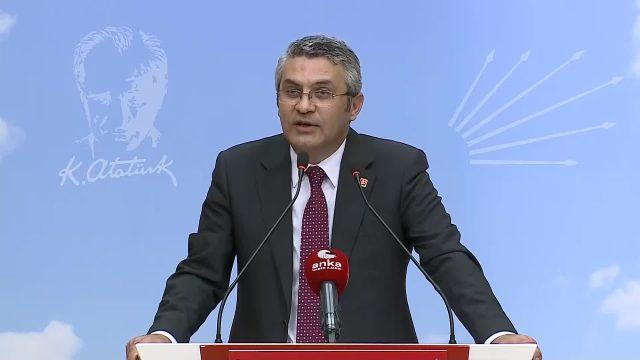"""CHP'li Salıcı: """"Ülkede okullar kapalı, konser, tiyatro yasak, AKP'nin siyasi propaganda yapabileceği her etkinlik serbest"""""""