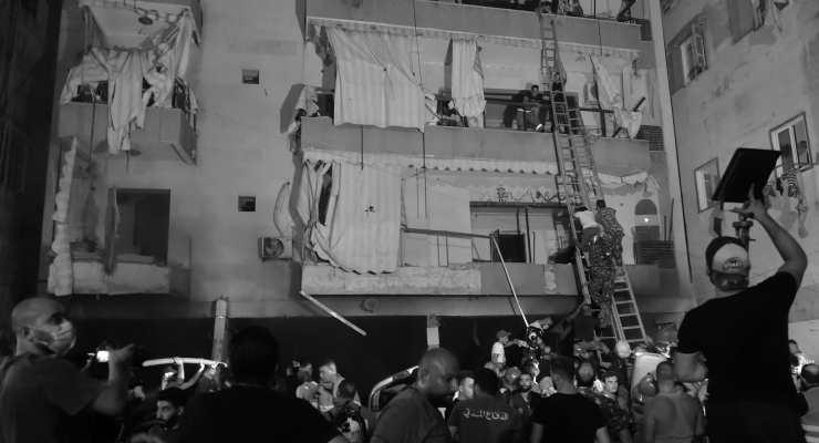 Beyrut'ta yakıt deposunda patlama: Dört kişi hayatını kaybetti