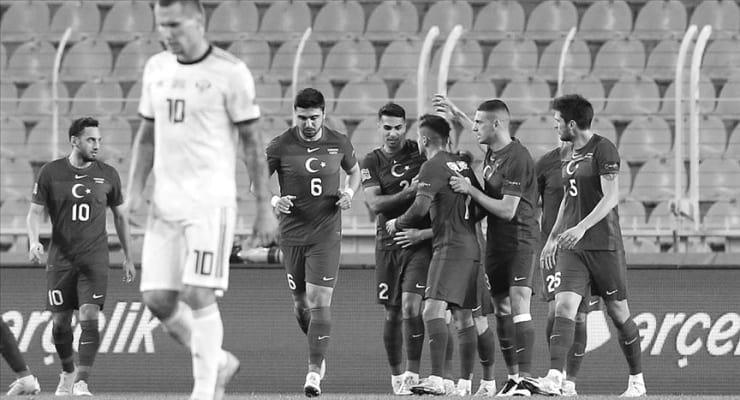 Milli futbol takımı, Rusya'yı 3-2 yendi