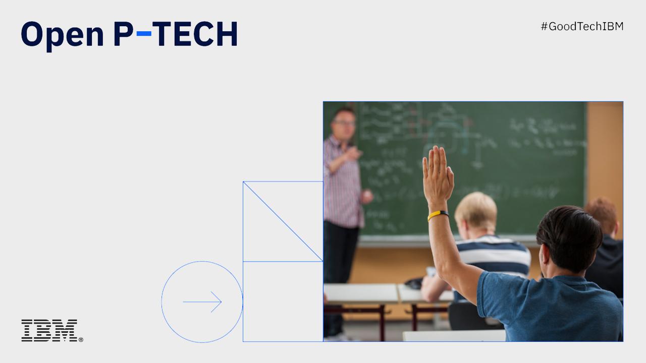 IBM, Türkiye'de kullanıma sunduğu dijital eğitim platformu Open P-TECH sistemine Türkçe'yi de ekledi
