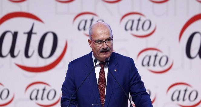 ATO Başkanı Baran'dan hükümetin esnafla ilgili destek çalışması konusunda çağrı