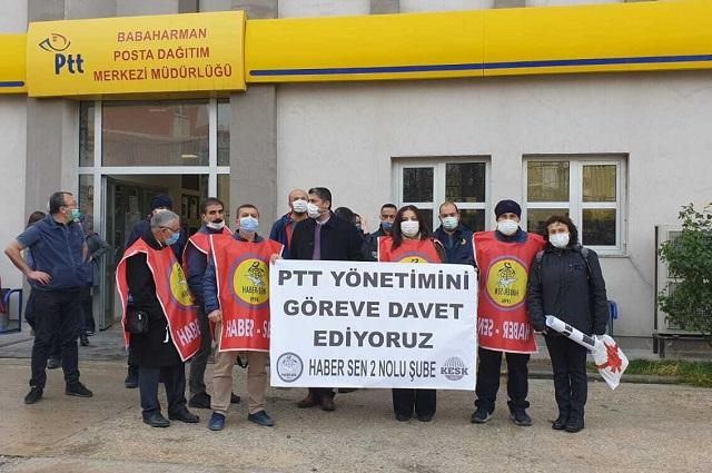 """Postacılardan Koronavirüs açıklaması: """"Çalışma koşulları bizi öldürüyor"""""""